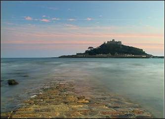 Tidal Island of St Michael Mount