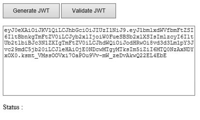 Generate JWT using JwtSecurityTokenHandler